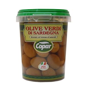 Olive in salamoia vaso 300 grammi