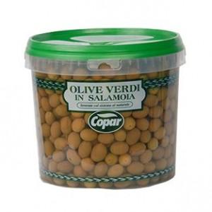 Olive in salamoia vaso 3500 grammi