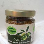 patè di olive verdi biologiche