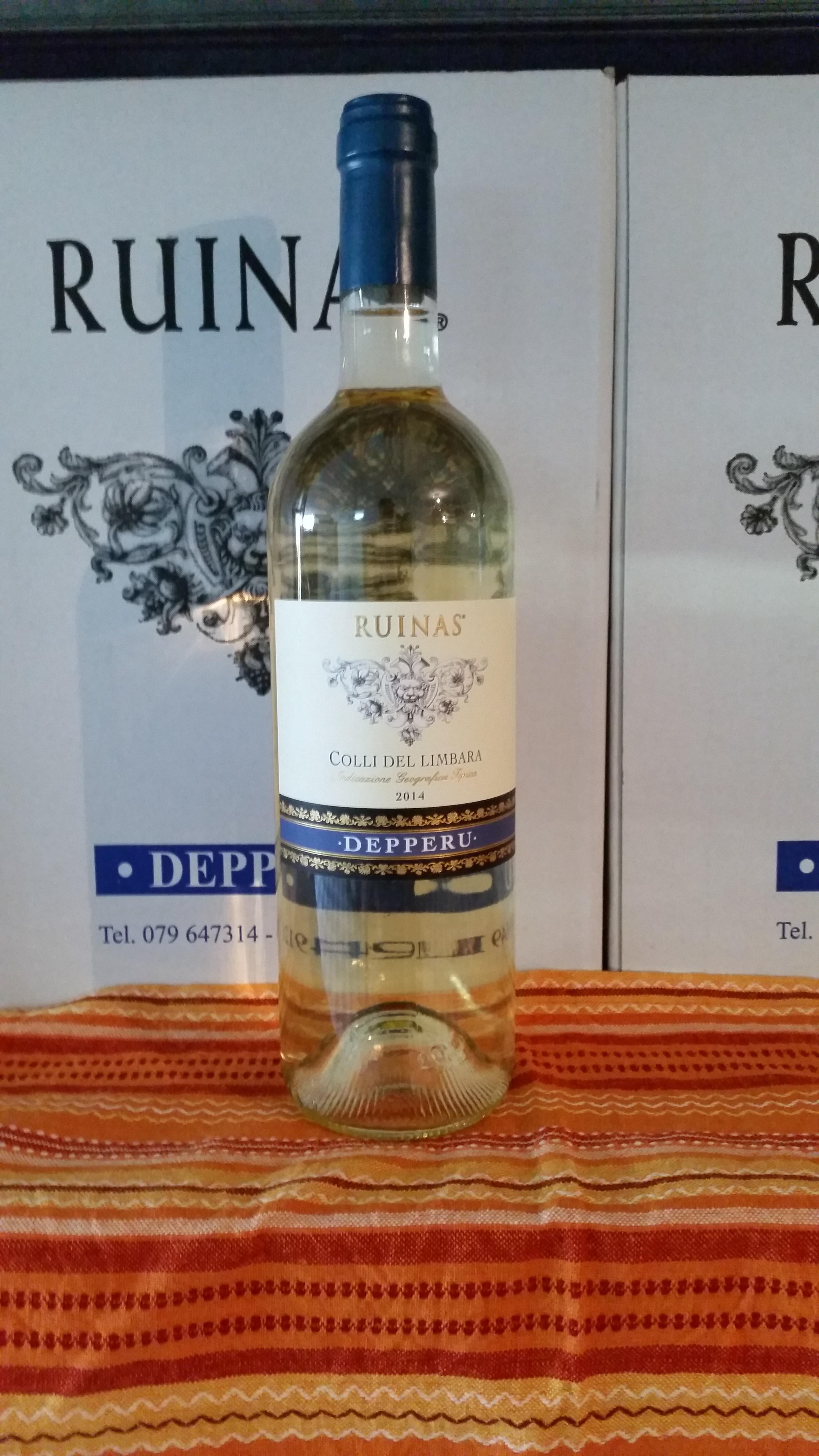 Vino bianco Ruinas