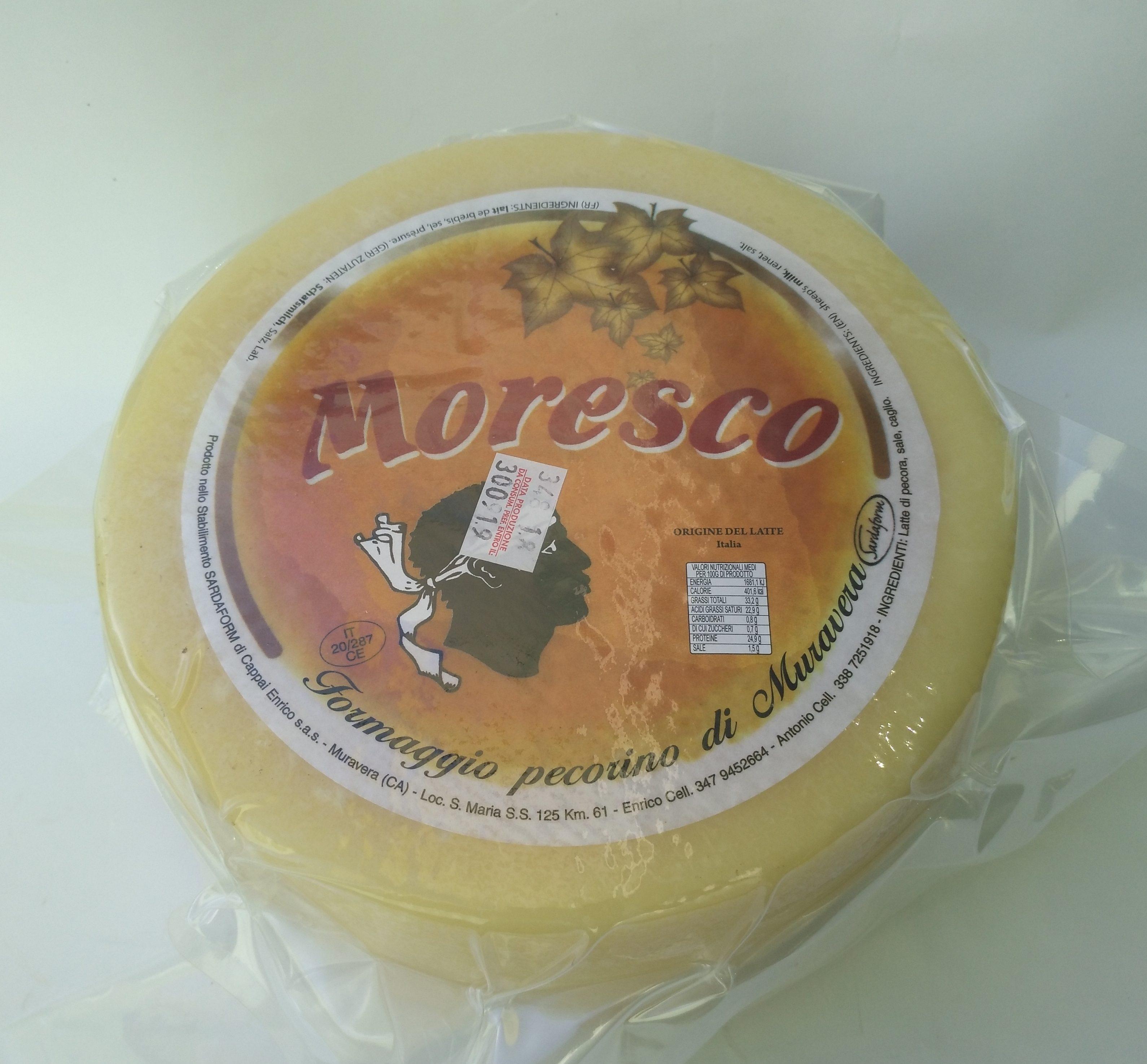 formaggio pecorino sardo Moresco Sardaform