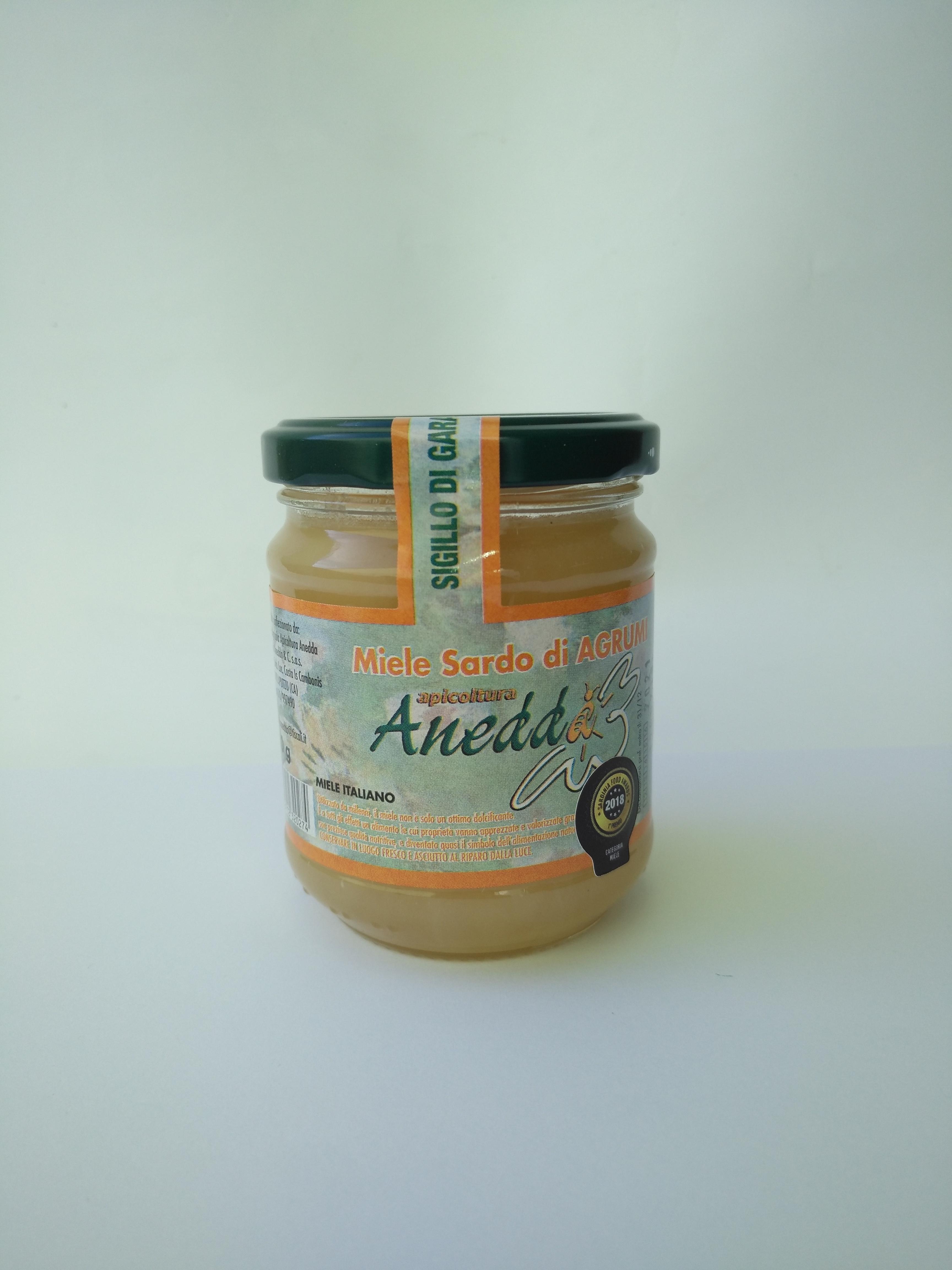 miele di agrumi sardo apicoltura anedda