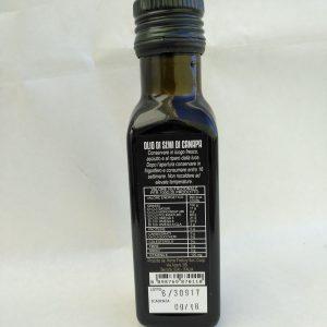 olio di semi di canapa hemp factory